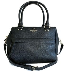 kate spade Bags - Kate Spade Hadlen Shoulder Bag ~ Black Leather